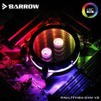 Barrow LTFHBA-04N-V2, For RyzenAMD/AM4/AM3 CPU Water Block Mirror Extreme, LRC RGB v2 Acrylic Microcutting Microwaterway - DISCOUNT ITEM  13 OFF Computer & Office