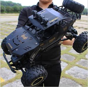 Image 2 - 1:12 1:16 voiture RC 4WD 4x4 télécommande 2.4G Bigfoot, modèle Buggy véhicule tout terrain, camions descalade, jouets pour garçons, cadeau pour enfants, jeeps