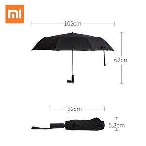 Image 1 - Xiao mi mi mi jia WD1 automatische regenachtige PARAPLU Zonnige Regenachtige zomer Alu Mi Num Winddicht waterdicht uv Parasol Man vrouw Zonnescherm