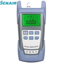 FTTH סיב אופטי מד כוח סיבים אופטי כבל Tester 70dBm ~ + 3dBm SC/FC מחבר