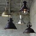 Loft Paese americano a Sospensione Lustre Lampade Retrò Industriale Vento Hanging Light Fixture Creativo Barra di Metallo Cabina di Illuminazione Interna