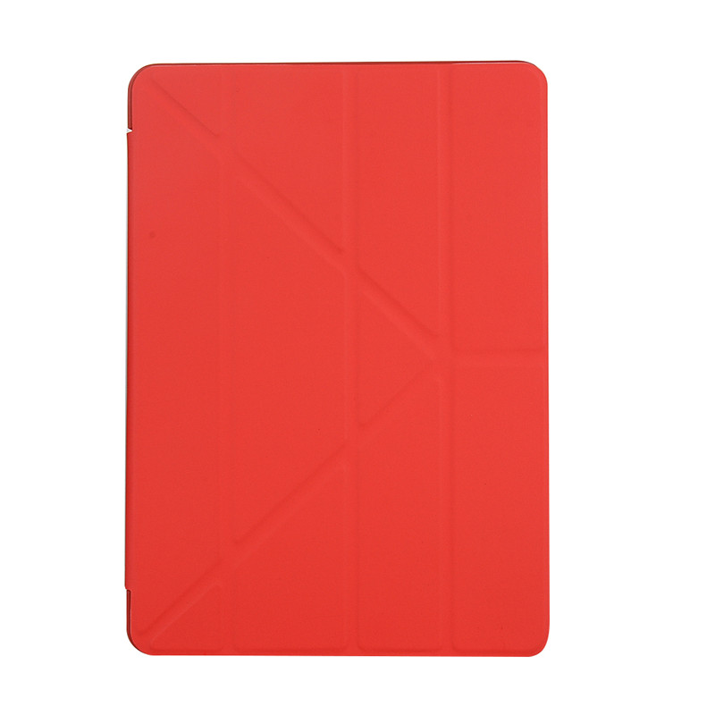 Red Red/Black Ultra Slim Soft TPU Back Cover Case For Etui iPad 2019 10 2 10 2 A2197