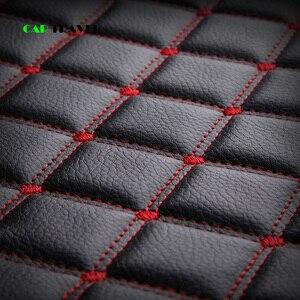 Image 4 - (Frente + traseira) cobertura de assento do carro de couro luxo 4 temporada para toyota rav4 2017 2013 CH R 2017 2016 corolla e120 e130 estilo do carro