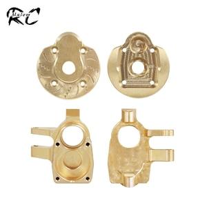 Латунные грузы, портальная ось, корпус рулевого кулака для 1:10 RC Crawler Axial SCX10 III AXI03007 & капа, обновленные детали AXI232006