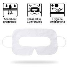 100Pc Sweat Absorbing Eye Mask VR Glasses Breathable Disposable Patches Eye Mask For  Oculus Quest 1/2 VR