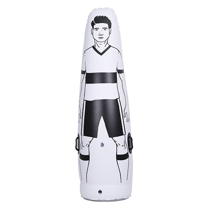Children's Inflatable Football Training Goalkeeper Tumbler Air Football Training Dummy Football Training Tool Inflatable Dummy