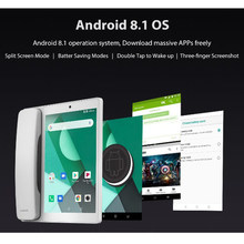 The Poptel latest Android system Google Play Store Bluetooth Receiver 8 Inch 2g/16g for IOT Device Tablet Phone Note Table Supp