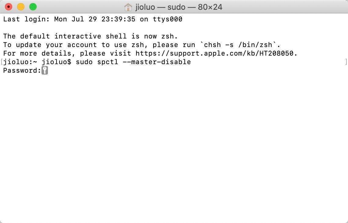 Mac安装软件时提示身份不明或已损坏,移至废纸篓怎么办?插图9