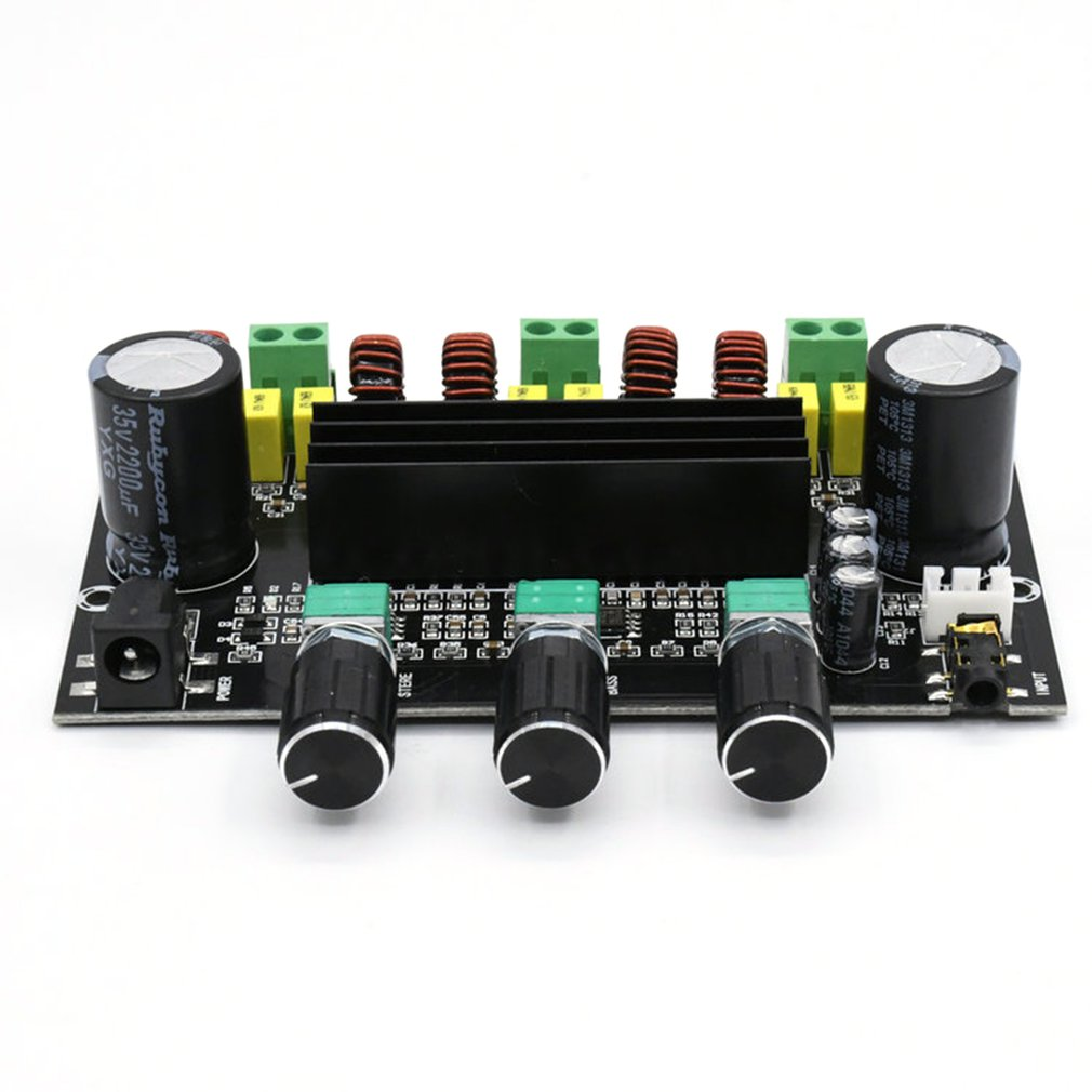 XH-M573 TPA3116D2 80W+80W+100W 2.1 Channel TPA3116 Digital Power Amplifier Board Bass Subwoofer Amplifier