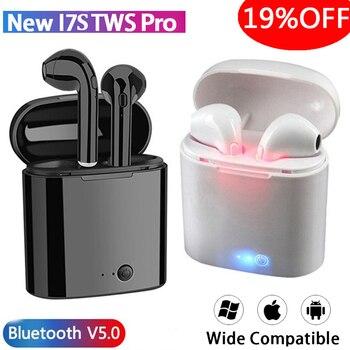 цена на i7s Tws Wireless Headphones Bluetooth Earphones Earbuds Handsfree in ear Sports Headset with Charging Box Mic For iPhone Xiaomi