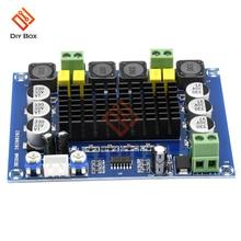DIY ערכת TPA3116D2 XH M543 גבוהה כוח דיגיטלי אודיו מגבר לוח מודול ערוץ כפול סטריאו 2*120W Amplificador 12V 24V