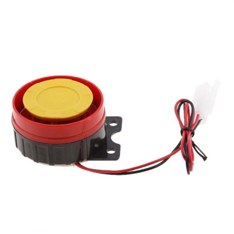 Новейшая модель; Громкий звуковой сигнал Автомобильная сирена-динамик для мотоцикла налет сирены небольшая сирена небольшой Электрически...