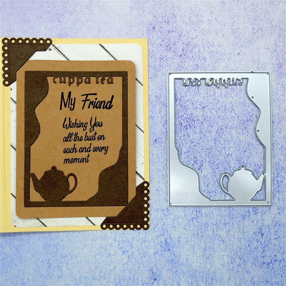 Frame Decor Metal Cutting Dies Stencils For Scrapbooking  Album Cards Making/_TI
