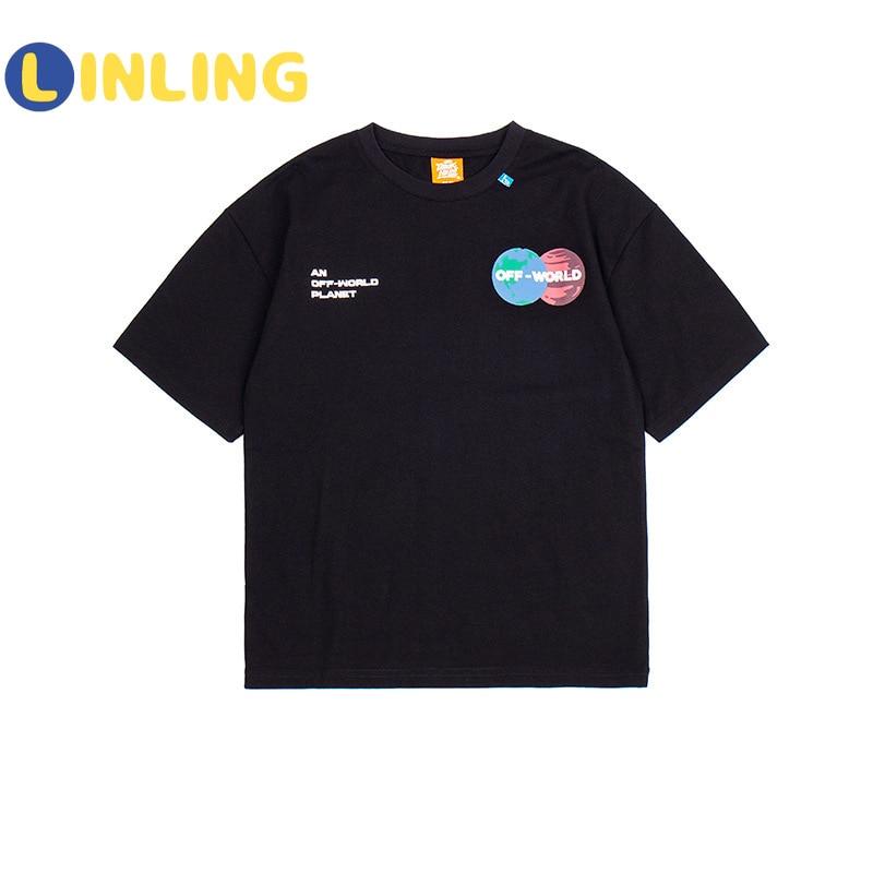 LINLING Fashion  Cotton Kids Costume Cartoon Prints Children's T-shirt Summer Soft Cotton Boys T Shirt V241 5