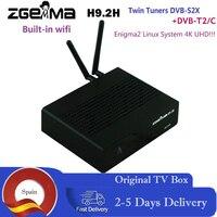 NEUER ZUMMA H9.2H Decoder Linux OS Enigma2 Digital 4K UHD Satellite Receiver DVB-S2X+DVB-T2/C Twin Tuner mit WLAN