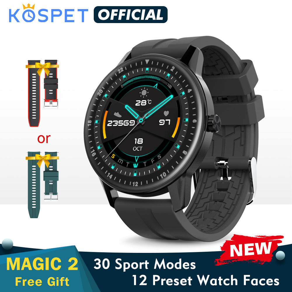 New KOSPET MAGIC 2 Smart Watch Men Waterproof Sport Band Fitness Tracker Bracelet Bluetooth Smartwatch Women For kid Android IOS