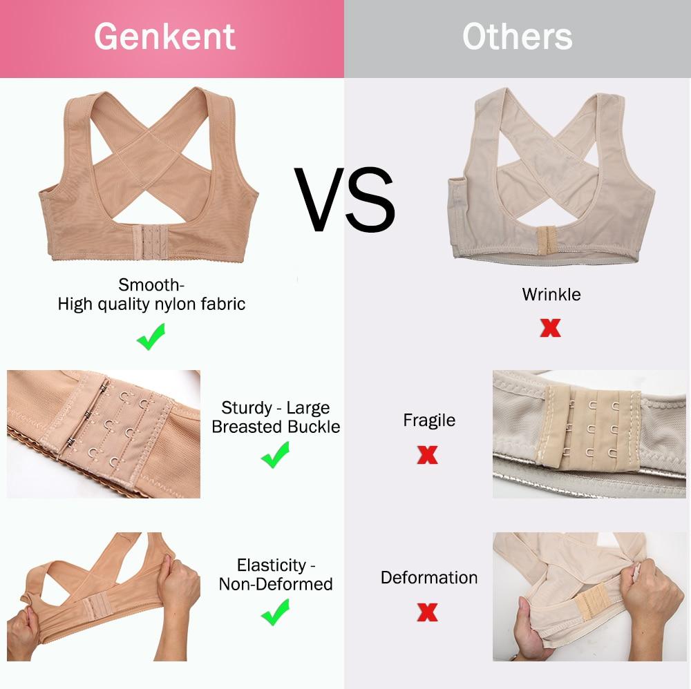 1PC Women Chest Posture Corrector Support Belt Body Shaper Corset Shoulder Brace for Health Care Drop Shipping S/M/L/XL/XXL 4