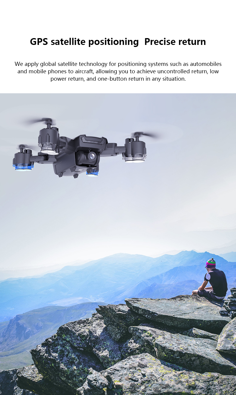 SHAREFUNBAY Drone GPS 5G WIFI and 4K HD wide-angle camera FPV Drone X Pro Quadcopter 19