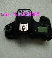 جديد 760D الغطاء العلوي الجمعية و أزرار لكانون 760D مفتوحة وحدة SLR كاميرا الجزء إصلاح