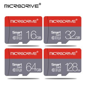 Class 10 Red Memory card 128GB 16GB 32GB Micro sd card 64GB Tarjeta microsd 32 gb Mini flash drive TF card with Free adapter