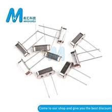 10PCS HC-49S 3.579545MHZ-100MHZ Oscillator quartz resonator 32.768MHZ 4/6/8/10/12/16/20/30 MHZ DIP-2 Crystal oscillator