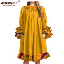2019 африканские повседневные платья для женщин модель с рукавами