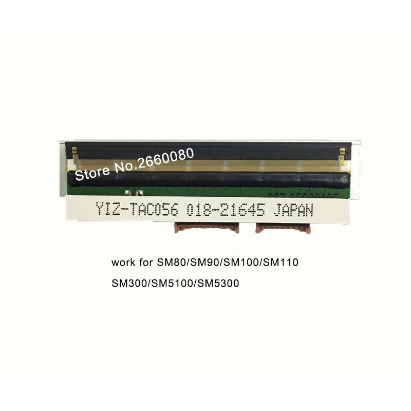 2 piunids/lote cabezal de impresión térmico para DIGI SM300P SM80 SM90 SM100 SM110 SM300 impresoras 150km vida útil de dos puertos cabezal de impresión