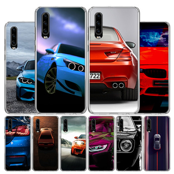 Blue white black For BMW Phone Case For Huawei P30 P40 P20 P10 Mate 30 20 10 P Smart Z Lite Pro Plus + 2019 Cover Coque Shell image