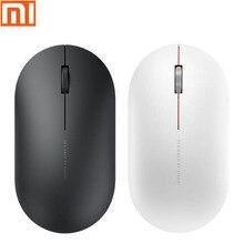 원래 Xiaomi MI 휴대용 원격 무선 광 마우스 2.4GHz 스마트 컴퓨터 Windows 7 8 10 Mac OS 10.8 무선 마우스 2