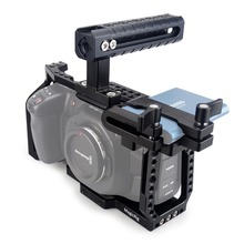 MAGICRIG-قفص كاميرا 4K /6K BMPCC ، مع مقبض علوي ، T5 SSD ، حامل Blackmagic Pocket ، للسينما ، 8 K/4K /BMPCC 6K