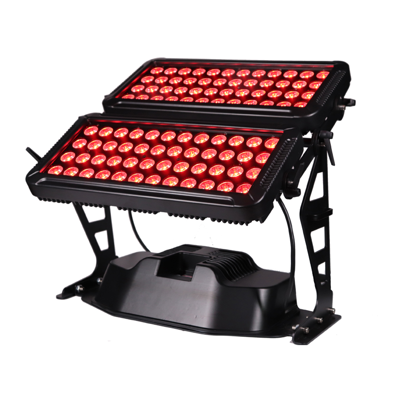 96*10W High brightness outdoor wall washer city color led stage lighting