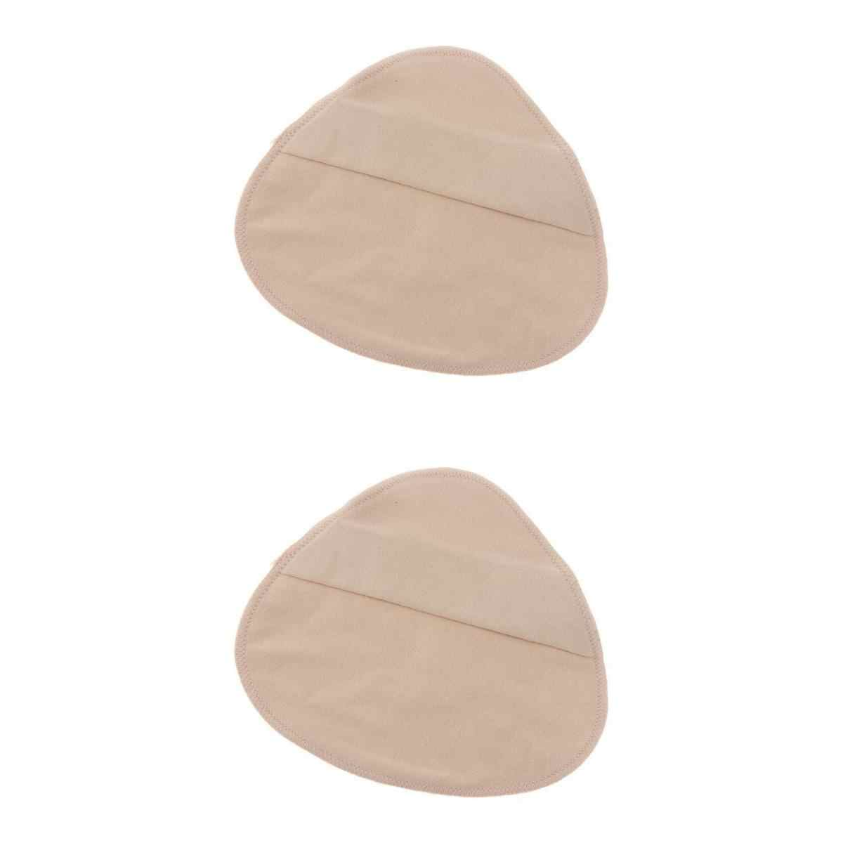 2 piezas, bolsillo protector de algodón para mastectomía, prótesis de silicona, prótesis forma de mama Artificial, fundas para pechos falsos