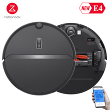 New Arrive Roborock E4 Robot Vacuum Cleaner Sweep and Wet Mopping App Control Runtime 200mins Automatically Charge