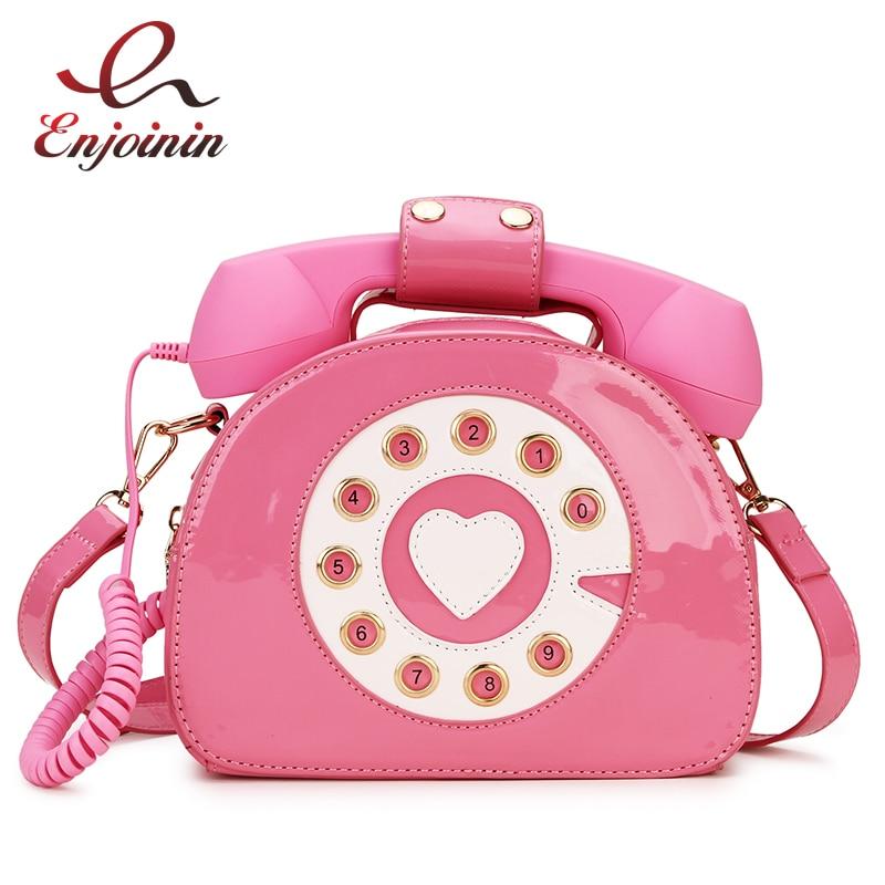 New Design Fun Vintage Sweetheart Phone Style Fashion Women Purses And Handbags Shoulder Bag Crosbody Bag Girl's Bolsa Totes