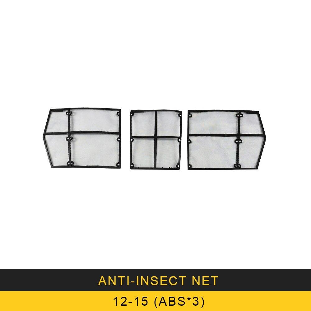 Voiture Anti insecte protection solaire capot avant grilles Grille filet maille cadre Auto pièces pour Toyota Land Cruiser 200 LC200 J200 2012-2018 - 5