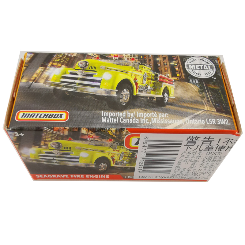 2020 Matchbox Cars 1:64 Car SEAGRAVE FIRE ENGINE Metal Diecast Alloy Model Car Toy Vehicles