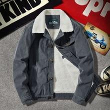 Jacket Male Kpop Wool-Coat Men Cashmere Thick Warm New