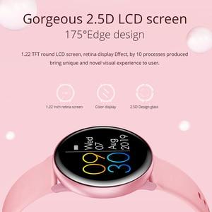 Image 2 - Reloj inteligente COLMI SKY 2 IP68 a prueba de agua ritmo cardíaco oxígeno en sangre deporte Bluetooth hombres Fitness Trakcer reloj inteligente para iOS Android