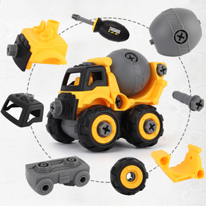 Image 5 - Detachable Engineering Vehicle Car Styling Toys For Children Boys Dump Tracks Educational Model Diecast Cars Toy Kids