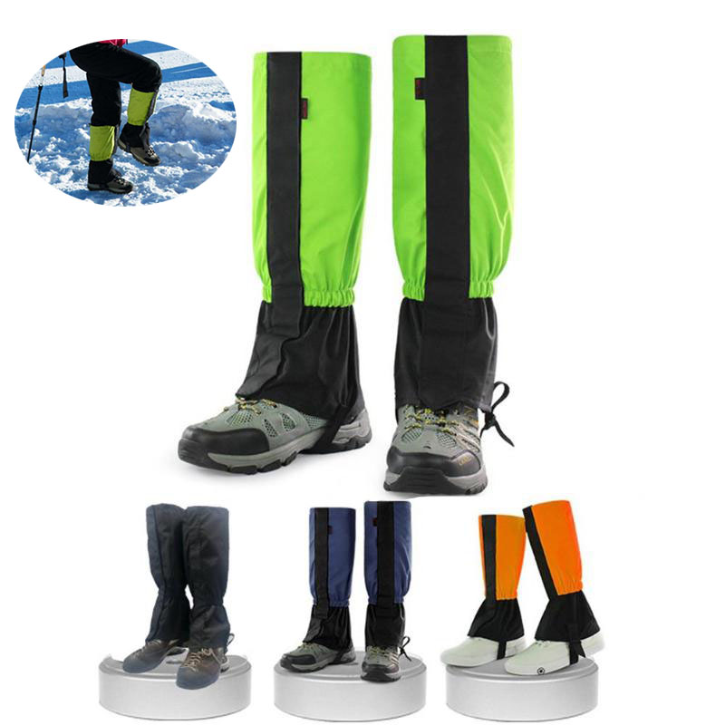 Randonnée neige Ski Legging guêtres imperméable jambe Protection garde couverture extérieur neige genouillère Ski randonnée Ski Legging