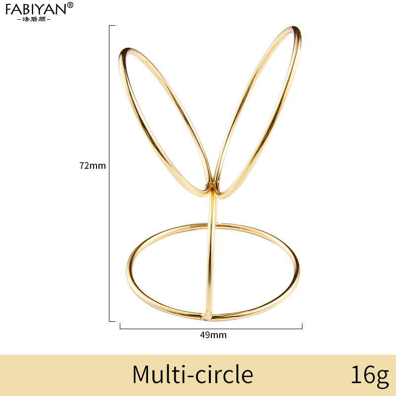 Gold multi-circle