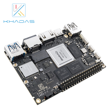 New Khadas SBC Edge V Pro RK3399 With 4G DDR4 + 32GB EMMC5.1 Single Board Computer