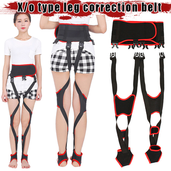 Good Healthy Day Night Dual-use X/O Legs Straightening Belt Leg Posture Corrector Comfortable Adjustable Straps