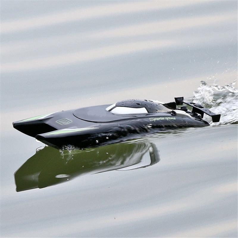 USB Smart Charging RC Boat Ship Remote Control Distance About 100 Meters Speedboat Model Toys Birthday Gift For Boys
