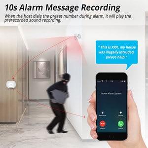 Image 4 - Kerui w19 무선 안드로이드 ios app 원격 제어 홈 보안 경보 시스템 gsm 창고 도난 경보 키트 미니 센서