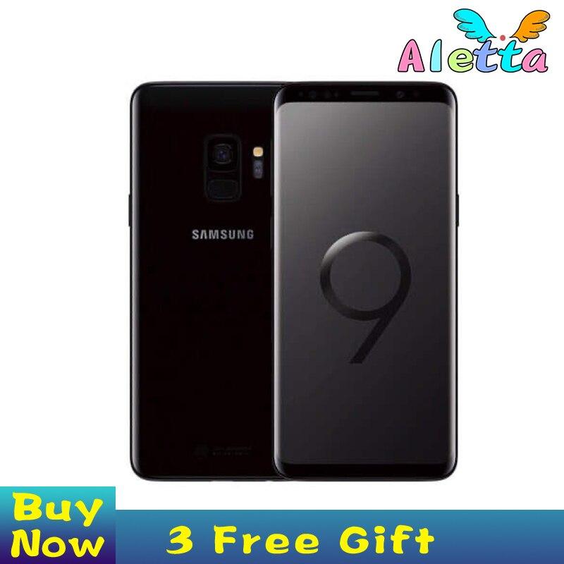 Samsung Galaxy S9 más G965U Original desbloqueado LTE teléfono móvil Octa Core 6,2