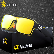 Viahda 2020 Polarized Sunglasses Men Male Cool Outdoor Sport Sun glasses for Driving Goggles Eyewear gafas de sol hombre hot brand new 2017 summer cool women mens hd sunglasses driving goggles sun glasses eyewear gafas de sol hombre z1