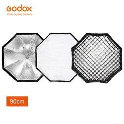 Godox AD-H9 90cm / 35.4 Inch Octagon Umbrella Softbox with Grid for Godox Mount AD600 AD600M