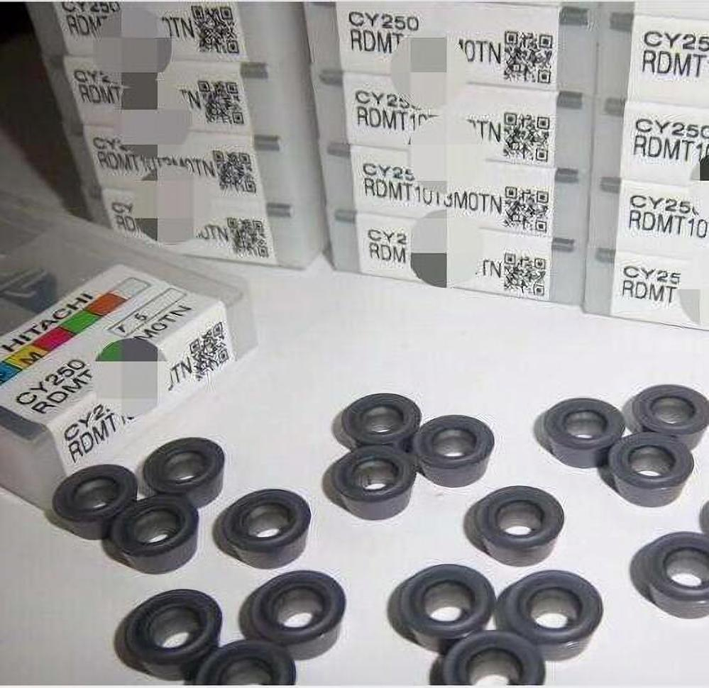 CPMT 080204 CY250 100% HITACHI Original Carbide Insert With The Best Quality 10pcs/lot Free Shipping