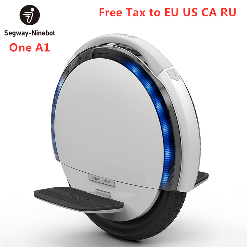 Ninebot One A1 Self Balance Unicycle Electric Scooter Monowheel Single Wheel Scooter Support Single Dual Batteries Skate Board